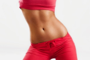 It is just as easy to fill a flat tummy as one not-so-flat