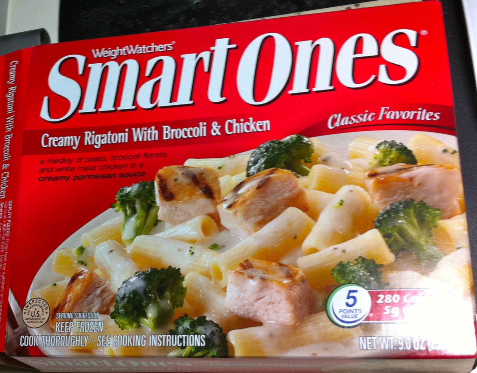 Creamy rigatoni with broccoli and chicken weight - Cuisine weight watchers ...