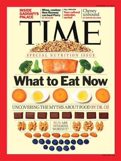 Dr oz on healthy eating time magazine cover one for Articles cuisine