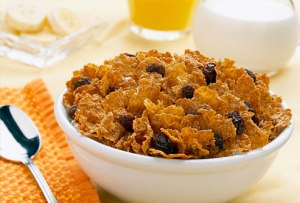 Raisin bran can have as much as 250 mg per cup.
