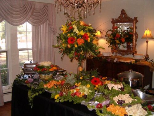 You host may offer a sumptuous spread, but you have control over how much you choose to eat.