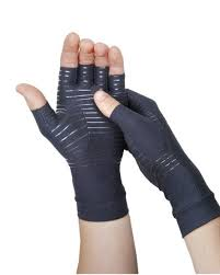The compression gloves I wear now