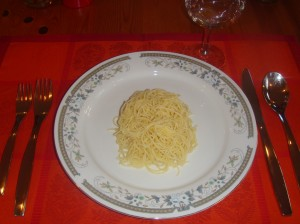 This is one cup of pasta - 200 calories