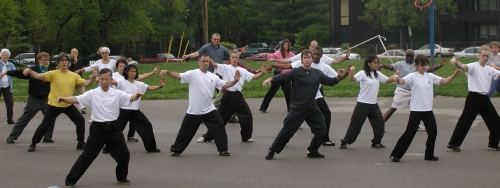 Tai Chi is called meditation in motion. It is excellent for seniors because it helps balance.