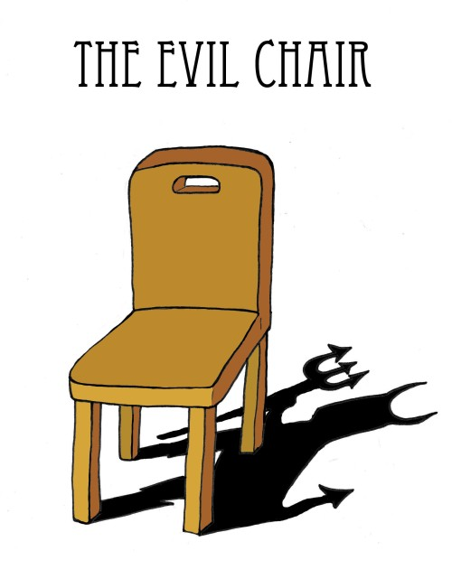For the record, it's not the chair that's evil, it's your sitting too long in it. Read some of the hints on this page ...