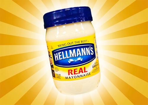 Hellman's Mayonnaise.