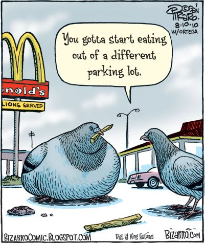 Fast food foibles ...