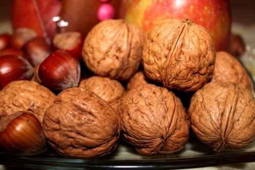 holidays nuts decoration christmas