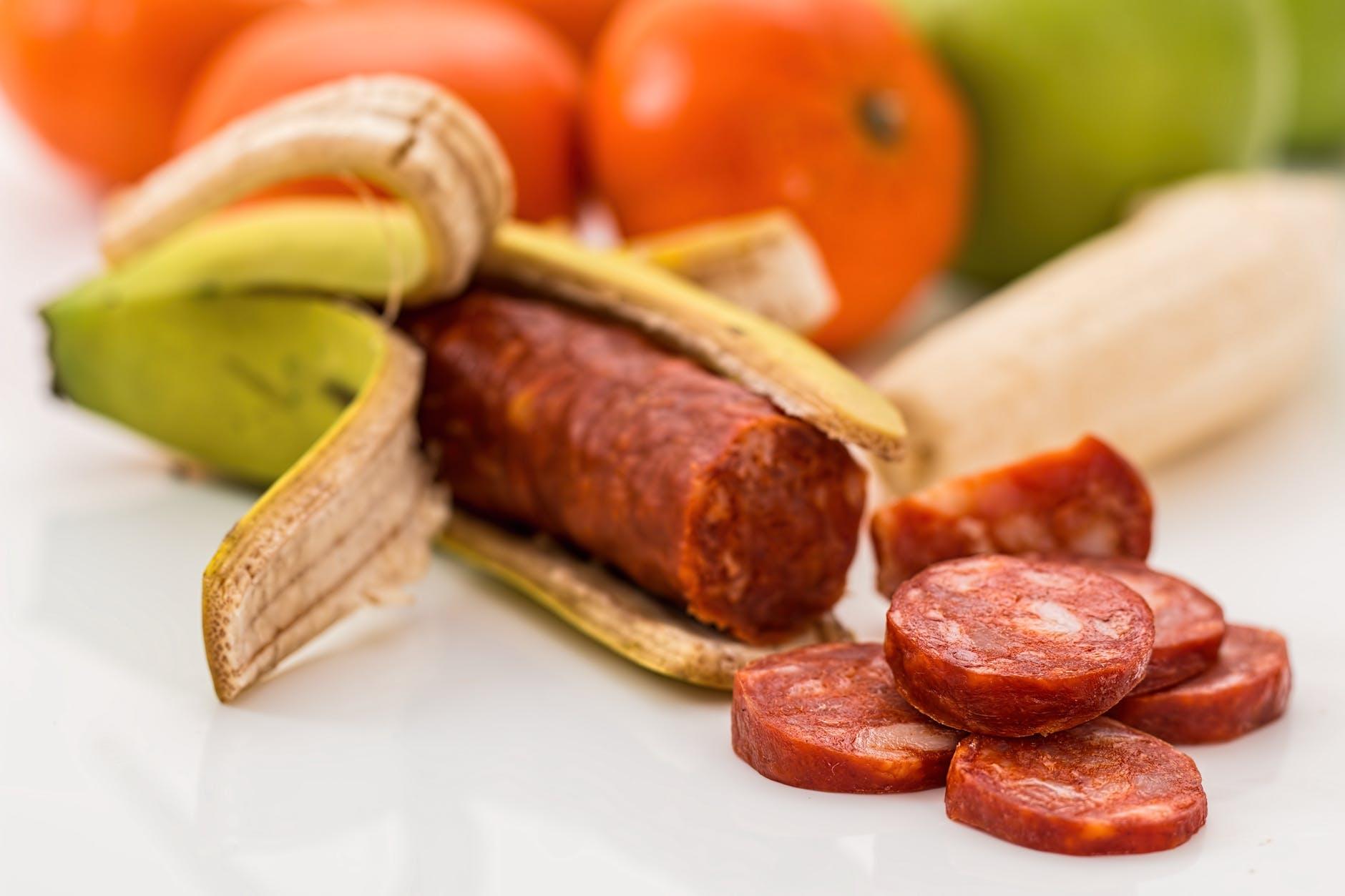 artificial banana banting beef